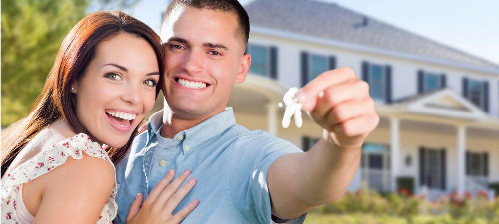 couple getting into house because of FHA Loans