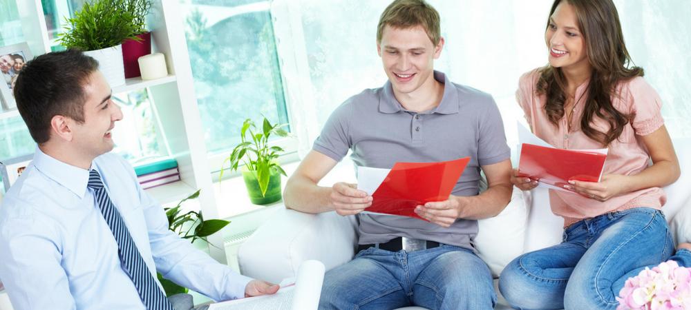 family applying for Home Grants